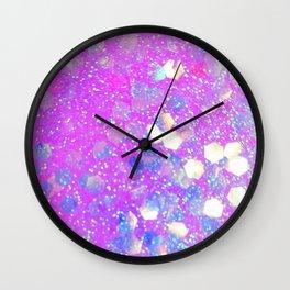 Irridescent Love Wall Clock