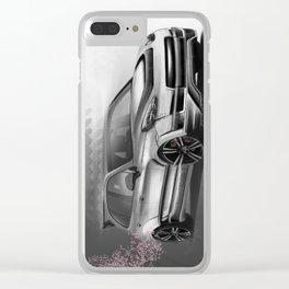 Porsch Cayenne Sakura Artrace body-kit. Clear iPhone Case