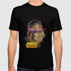 Chewbacca Swag X-LARGE Mens Fitted Tee Black