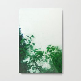Spring Fresh Rain Metal Print