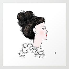 Cuty Art Print