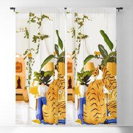 Tiger Reserve Villa Blackout Curtain