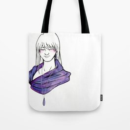 Purple Drop Tote Bag
