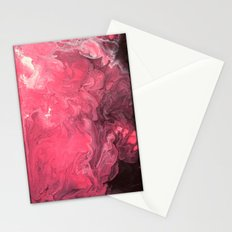 Pink and Purple Abstract I Stationery Cards