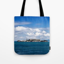 Alcatraz, San Francisco Tote Bag