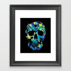 SKULL ETAPAS Framed Art Print