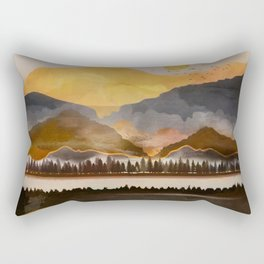 Pure Wilderness at Dusk Rectangular Pillow
