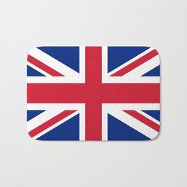 Union Jack Authentic color and scale 3:5 Version  Bath Mat