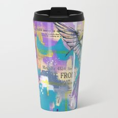 A Hummingbirds Folly Travel Mug