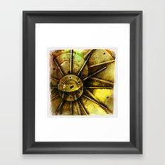 spokes model Framed Art Print