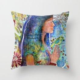 Be Love Throw Pillow