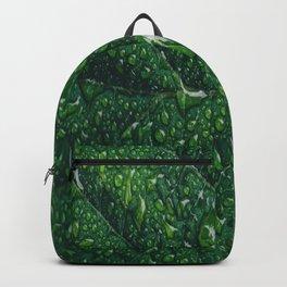 leaf dew drops Backpack