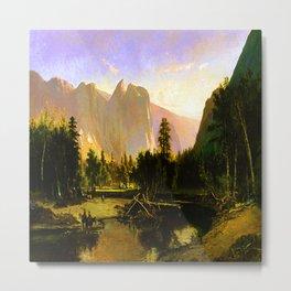 William Keith Yosemite Valley Metal Print