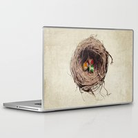 jazzberry Laptop & iPad Skins featuring Yoshi Eggs by Eric Fan