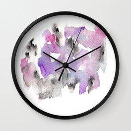 Waterolor 72 Ing Wall Clock