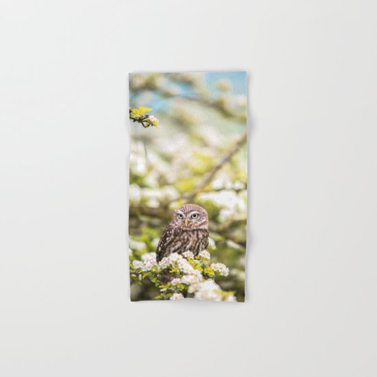 Wise Owl Hand & Bath Towel