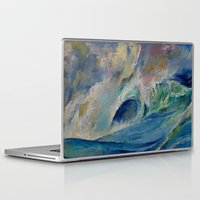 rogue Laptop & iPad Skins featuring Rogue Wave by Michael Creese