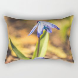 forget me not Rectangular Pillow