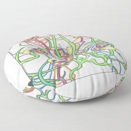 Pond Life Floor Pillow