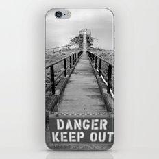 danger danger iPhone & iPod Skin