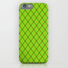Plaid 1 iPhone Case