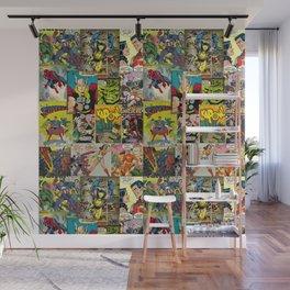 Comic Pattern Wall Mural