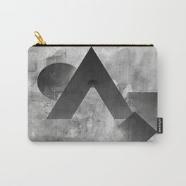 shapes in black and white Carry-All Pouch