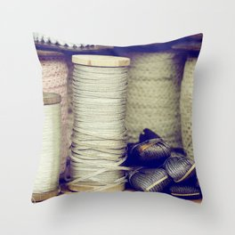 Thread Throw Pillow