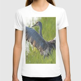 Sandhill Crane Up Close T-shirt