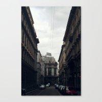 milan Canvas Prints featuring Milan by BMaw