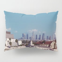 Hollywood to Downtown Los Angeles Pillow Sham