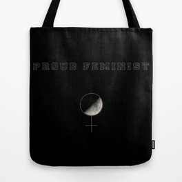 Proud Feminist Tote Bag
