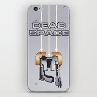 dead space iPhone & iPod Skins featuring Dead Space by Spiritius