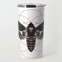 Sacred Death's-head Hawkmoth Travel Mug