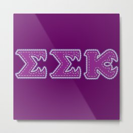 Monster University Fraternity : Slugma slugma Kappa Metal Print