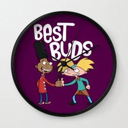 Best Buds Wall Clock