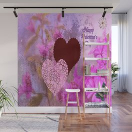 Happy Valentine`s Day Wall Mural