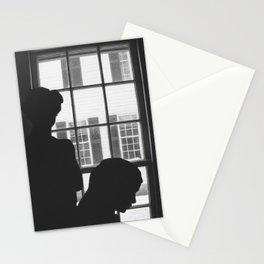 Silhouettes In Window Stationery Cards