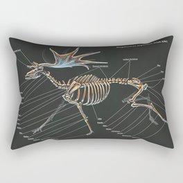 Megaloceros Giganteus Skeletal Study Rectangular Pillow