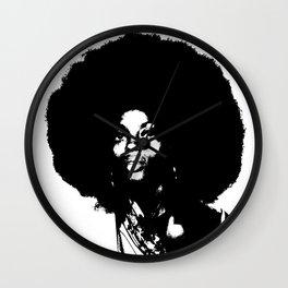 Diana Ross B&W  Wall Clock