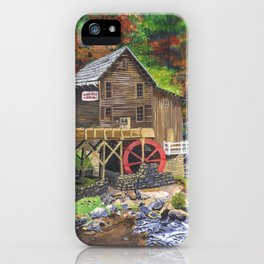 Glade Creek Grist Mill, WV iPhone Case
