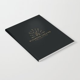 Wishbone Logo Notebook Gold/Carbon Notebook
