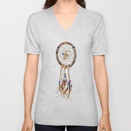 Spiritual Dreamcatcher Unisex V-Neck