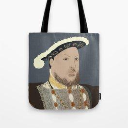 Henry VIII of England Tote Bag