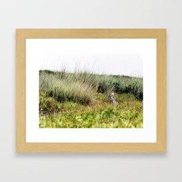 Grass Framed Art Print