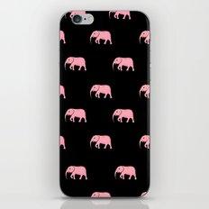 pink elephants iPhone & iPod Skin