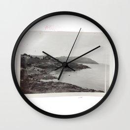 Vintage Beach Photo Wall Clock