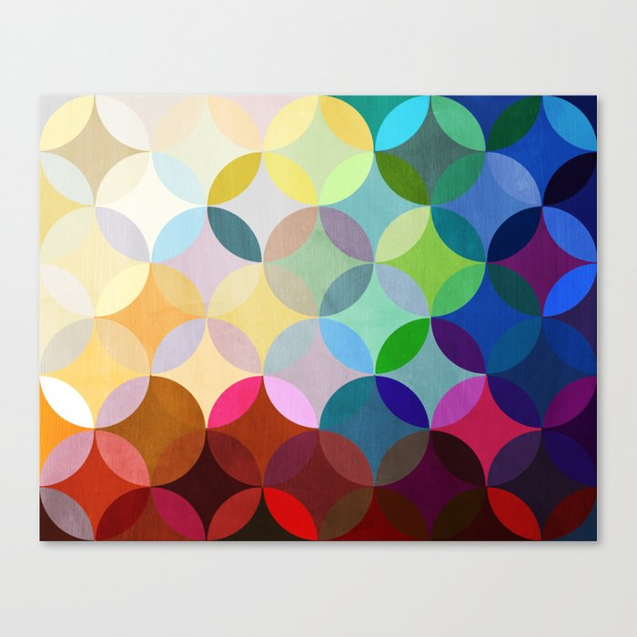 Circular Motion Canvas Print