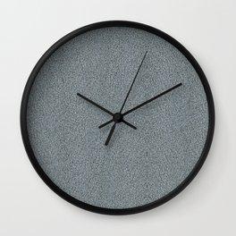 Bravery Blue Linen  Wall Clock