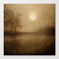 aelwen Canvas Prints featuring From the morning by Viviana Gonzalez